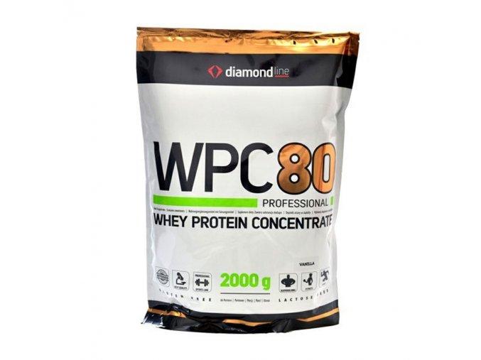 PROTEIN Hi Tec Nutrition Diamond line WPC 80 protein 900g  + šťavnatá tyčinka ZDARMA