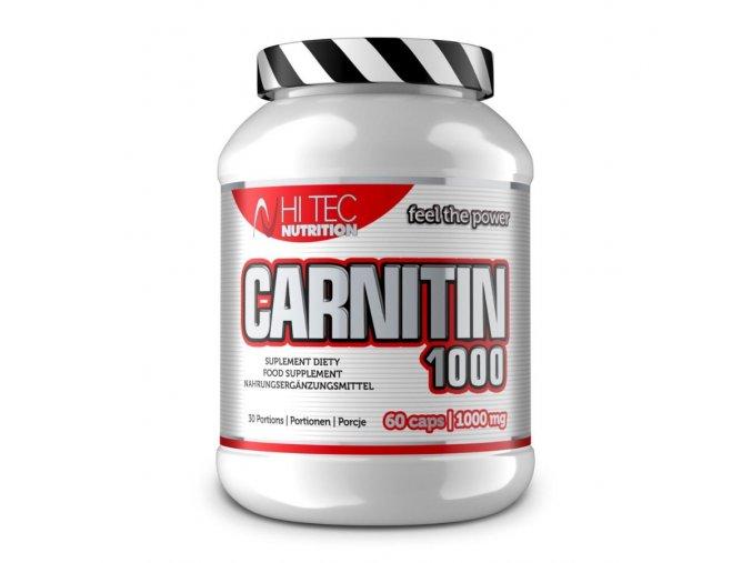Hi Tec Nutrition Carnitin 1000 60 kapslí  + šťavnatá tyčinka ZDARMA