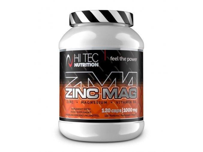 Hi Tec Nutrition Zinc Mag 120 kapslí  + šťavnatá tyčinka ZDARMA