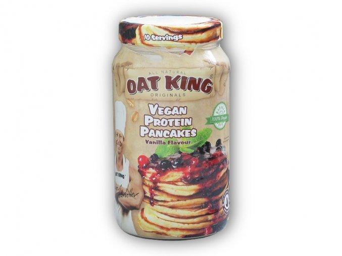 Oat King Oat king vegan protein pancakes 500g  + šťavnatá tyčinka ZDARMA