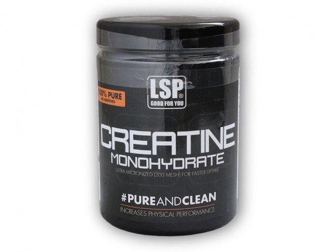LSP Nutrition Creatine monohydrate 100% 500g  + šťavnatá tyčinka ZDARMA