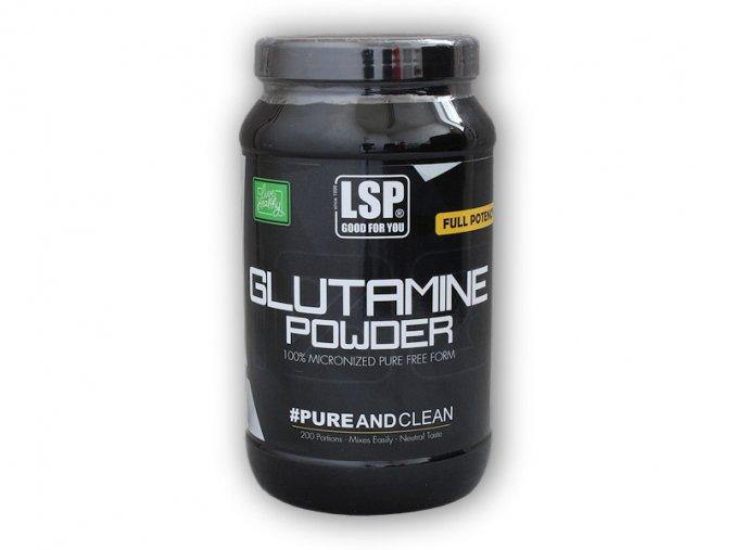 LSP Nutrition L-Glutamine 100% crystal pure 1000g  + šťavnatá tyčinka ZDARMA