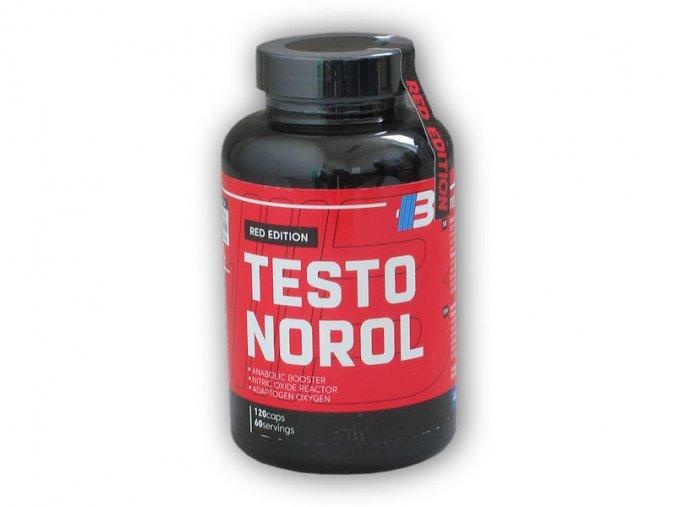 Body Nutrition TESTONOROL 120 kapslí  + šťavnatá tyčinka ZDARMA