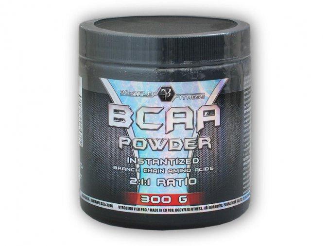Bodyflex BCAA powder 300g  + šťavnatá tyčinka ZDARMA