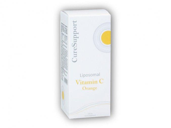CureSupport Liposomal Vitamin C 500mg 250ml  + šťavnatá tyčinka ZDARMA