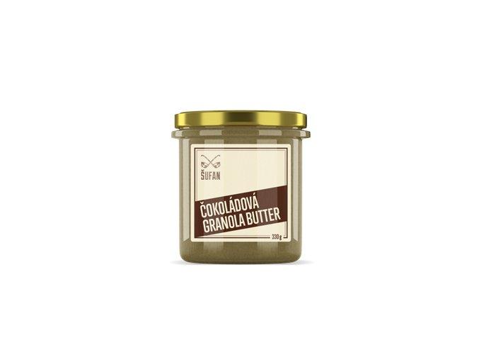 Šufan Granola Butter čokoládová 330g