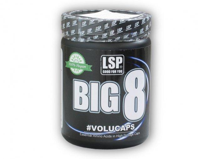 LSP Nutrition BIG 8 essential amino 300 kapslí  + šťavnatá tyčinka ZDARMA
