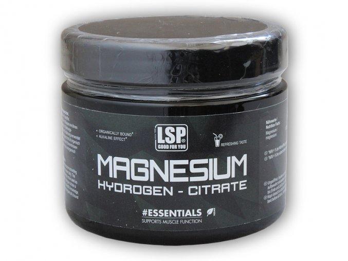 LSP Nutrition Magnesium hydrogen citrate pulver 500g  + šťavnatá tyčinka ZDARMA
