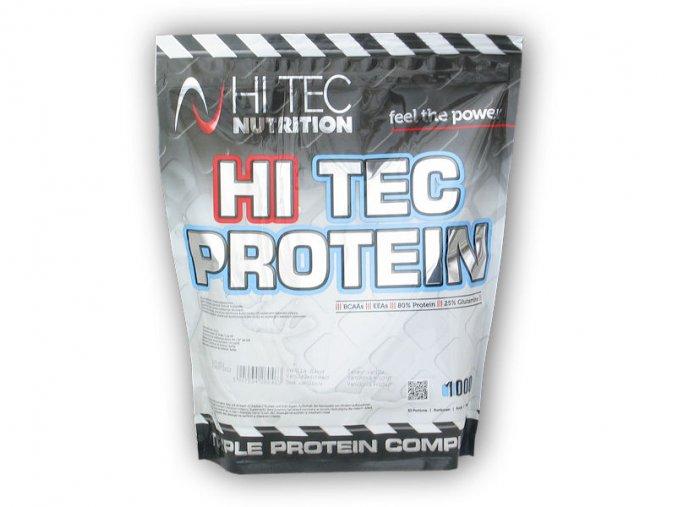 PROTEIN Hi Tec Nutrition HiTec Protein 1000g  + šťavnatá tyčinka ZDARMA