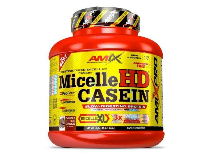 PROTEIN Amix Pro Series MicelleHD Casein 1600g  + šťavnatá tyčinka ZDARMA
