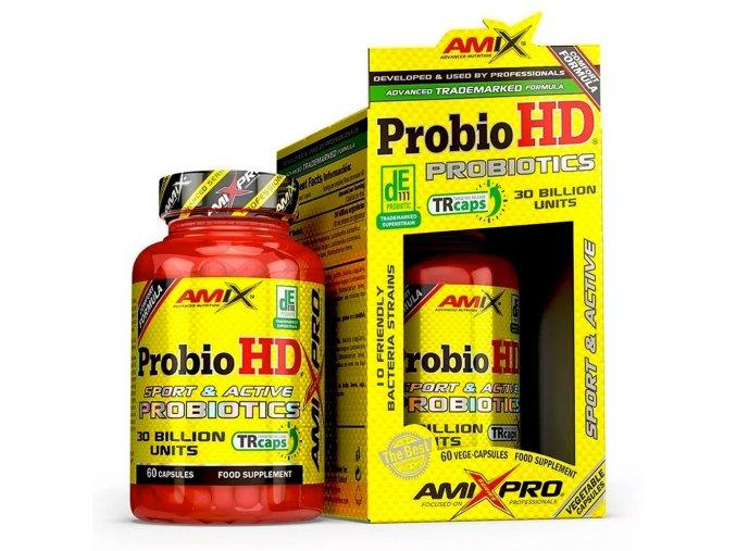 Amix Pro Series ProbioHD Probiotics 30 bilon units BOX 60cps  + šťavnatá tyčinka ZDARMA