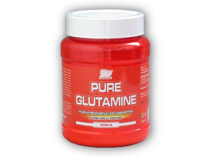 ATP Nutrition Pure Glutamine 600g  + šťavnatá tyčinka ZDARMA