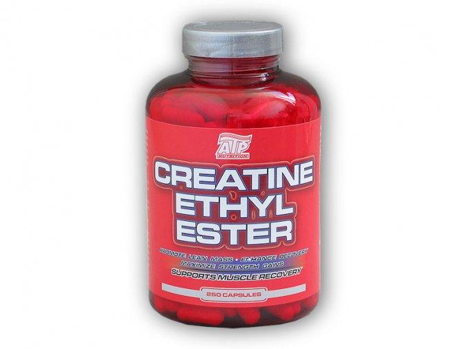 ATP Nutrition Creatine Ethyl Ester 250 kapslí  + šťavnatá tyčinka ZDARMA