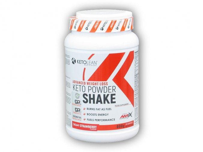 Amix Ketolean Keto Powder Shake 600g  + šťavnatá tyčinka ZDARMA
