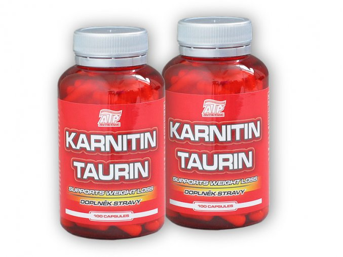 ATP Nutrition 2x Karnitin Taurin 100 cps