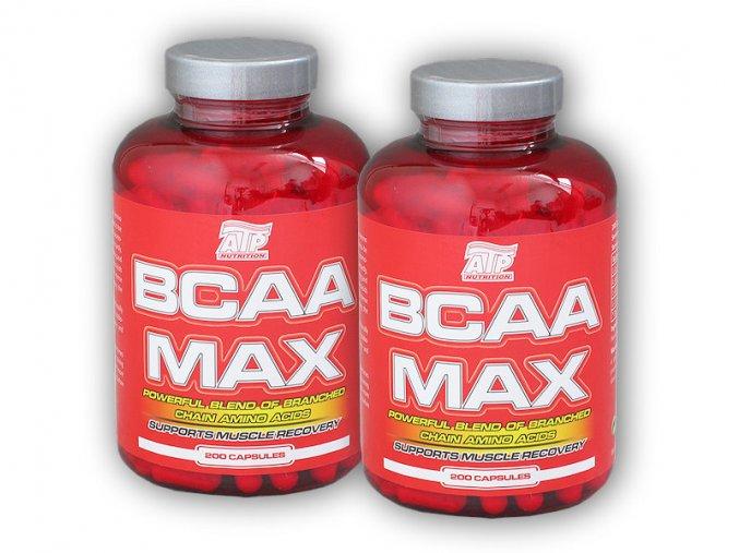 ATP Nutrition 2x BCAA MAX 200 kapslí  + šťavnatá tyčinka ZDARMA