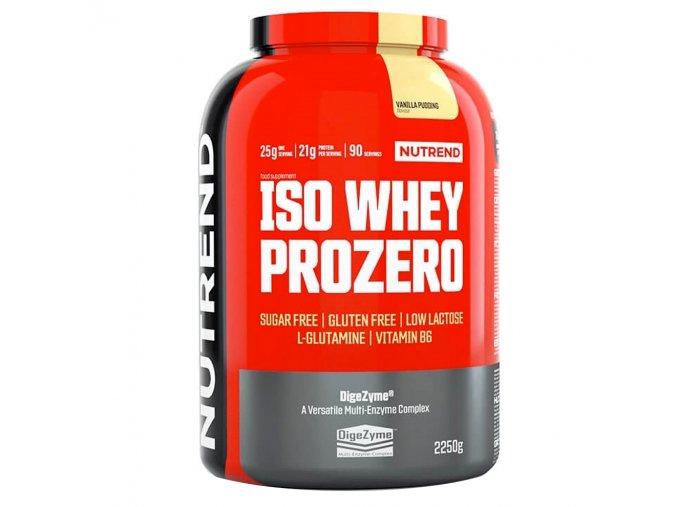 PROTEIN Nutrend Iso Whey Prozero 500g  + šťavnatá tyčinka ZDARMA