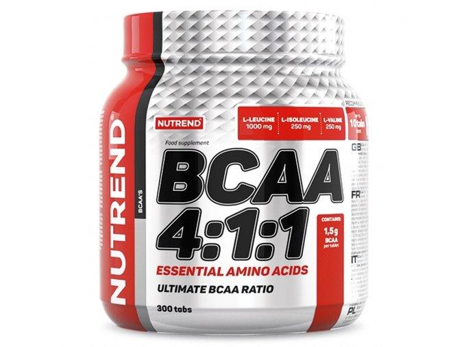Nutrend BCAA 4:1:1 100 tablet  + šťavnatá tyčinka ZDARMA