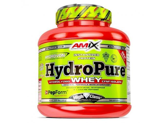 PROTEIN Amix High Class Series Hydro Pure Whey 1600g  + šťavnatá tyčinka ZDARMA