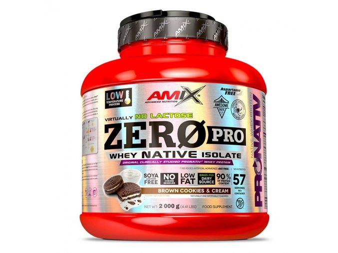PROTEIN Amix ZeroPro Protein 1000g  + šťavnatá tyčinka ZDARMA