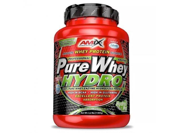 PROTEIN Amix Pure Whey Hydro Protein 1kg  + šťavnatá tyčinka ZDARMA