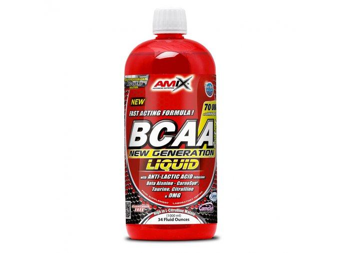 Amix BCAA New Generation Liquid 1000ml  + šťavnatá tyčinka ZDARMA