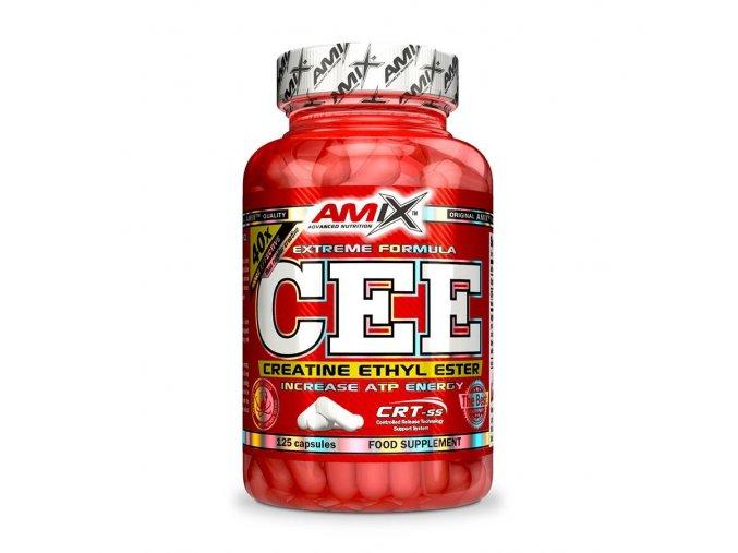 Amix CEE Creatine Ethyl Ester 350 kapslí  + šťavnatá tyčinka ZDARMA
