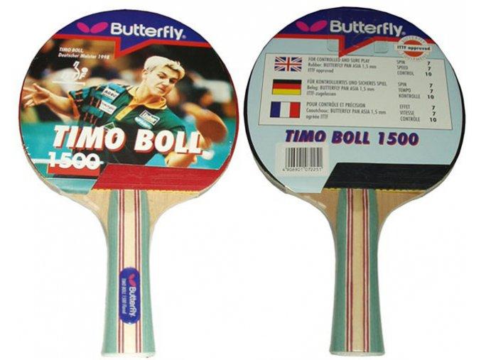 Butterfly Pálka na stolní tenis Boll 1500  + šťavnatá tyčinka ZDARMA