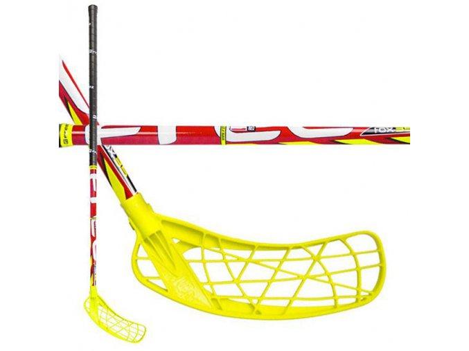 EXEL H071L Florbalová hůl Freez Fox 35 RED 95 cm levá  + šťavnatá tyčinka ZDARMA