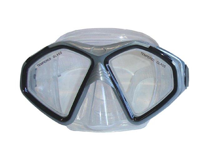 BROTHER Potápěčské silikonové brýle P59950