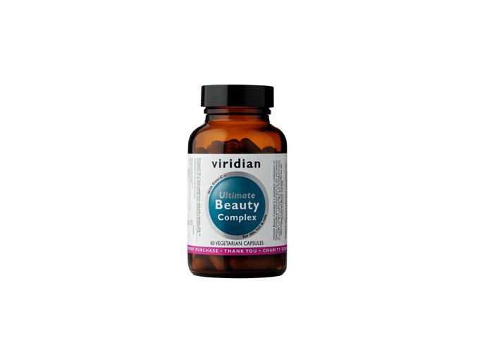 Viridian Ultimate Beauty Complex 60 kapslí  + šťavnatá tyčinka ZDARMA