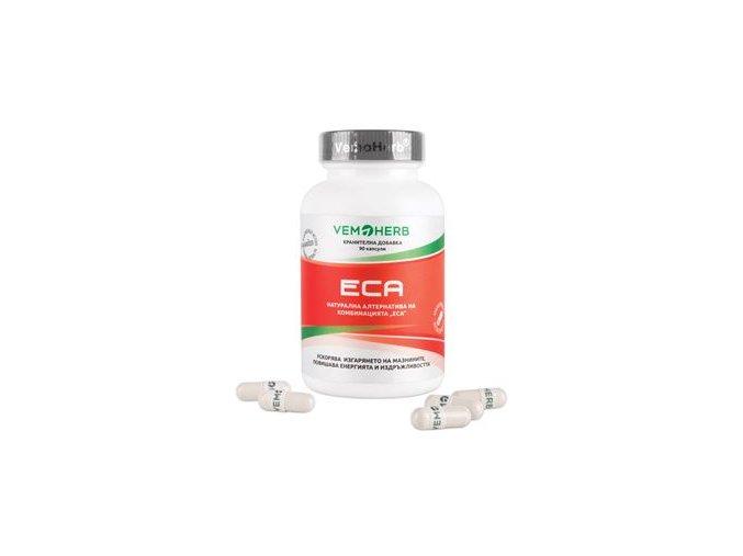 VemoHerb ECA 90 kapslí  + šťavnatá tyčinka ZDARMA
