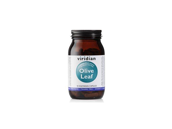 Viridian Olive Leaf 90 kapslí (Extrakt z listů olivovníku)  + šťavnatá tyčinka ZDARMA