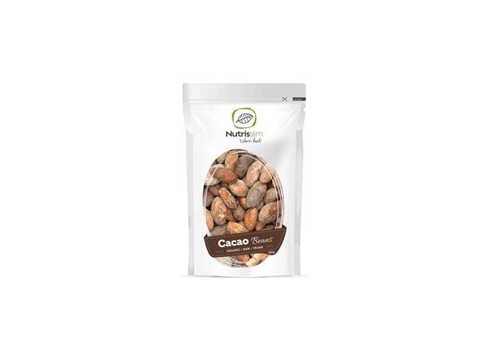 Nutrisslim Cacao Beans Bio 250g (Kakaové boby)