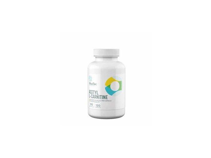 MyoTec Acetyl L-Carnitine 120 kapslí  + šťavnatá tyčinka ZDARMA