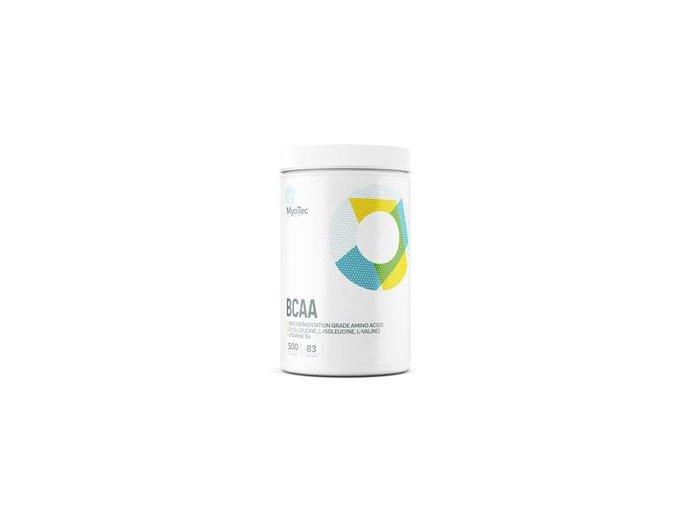 MyoTec BCAA 500 kapslí  + šťavnatá tyčinka ZDARMA