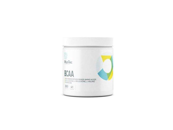 MyoTec BCAA 250 kapslí  + šťavnatá tyčinka ZDARMA