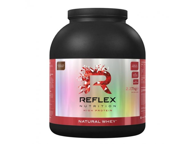 PROTEIN Reflex Nutrition Natural Whey 2270g  + šťavnatá tyčinka ZDARMA