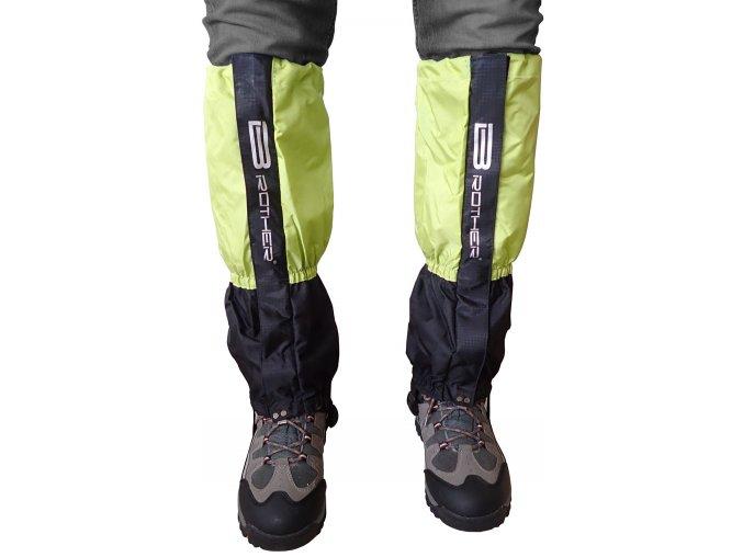 ACRA LTH2 Turistický návlek komfortní černo zelený - 1 pár