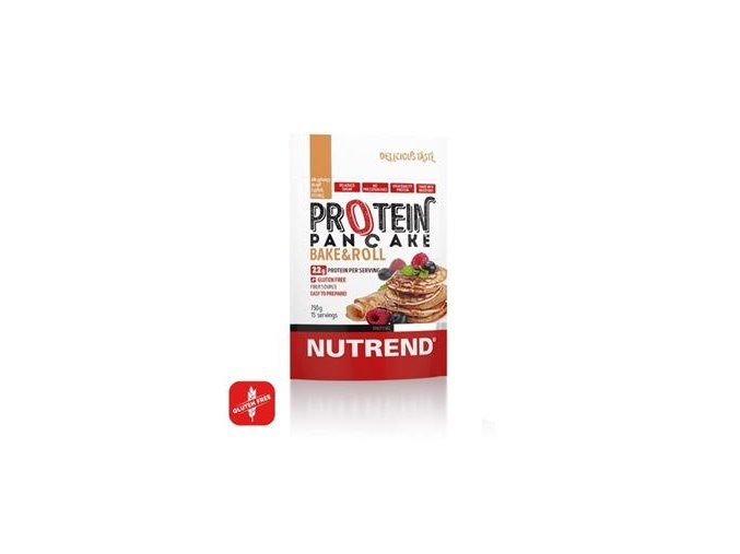 Nutrend Protein Pancake 750g natural  + šťavnatá tyčinka ZDARMA