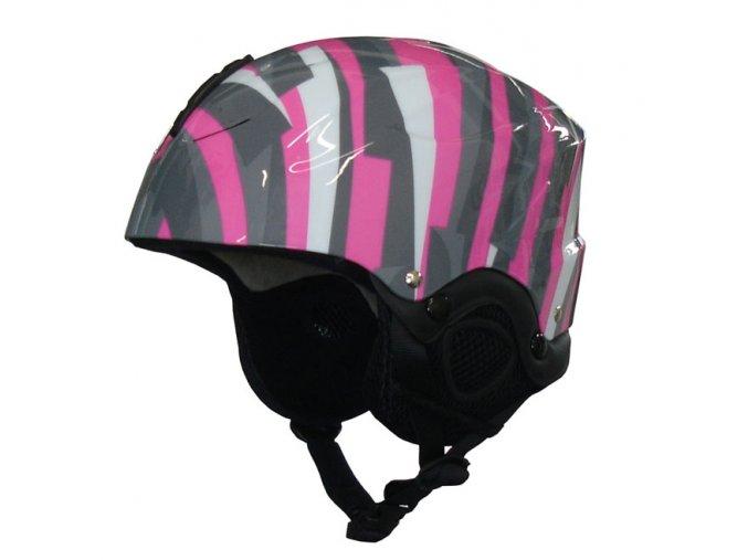 ACRA CSH61-S Lyžařská a snowboardová helma - vel. S - 48-52 cm  + šťavnatá tyčinka ZDARMA