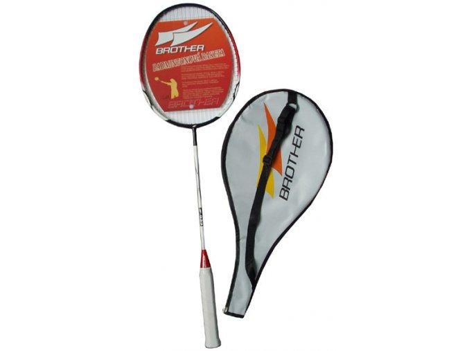 BROTHER G313A Pálka badmintonová 100% grafit G313A  + šťavnatá tyčinka ZDARMA