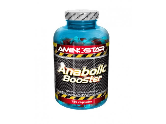 Aminostar Anabolic Booster 180 kapslí  + šťavnatá tyčinka ZDARMA