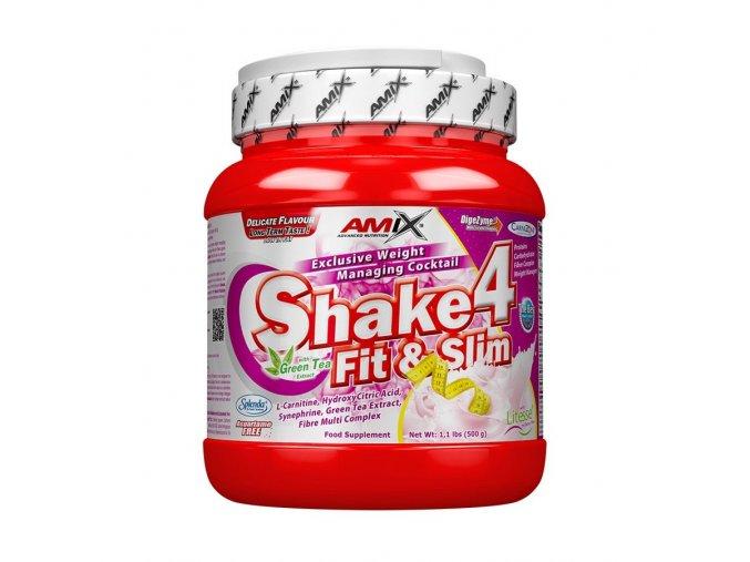 Amix Shake 4 Fit & Slim 1000g  + šťavnatá tyčinka ZDARMA