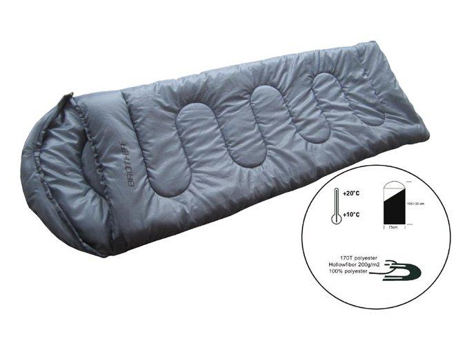 ACRA Spací pytel dekový s podhlavníkem SPP2  + šťavnatá tyčinka ZDARMA