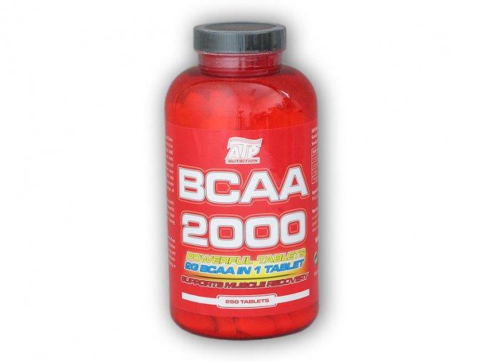 ATP Nutrition BCAA 2000 250 tablet  + šťavnatá tyčinka ZDARMA