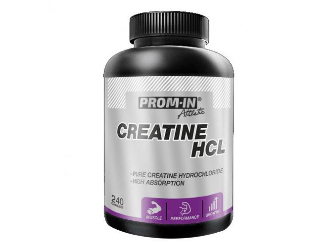PROM-IN Creatine HCL 240 kapslí  + šťavnatá tyčinka ZDARMA