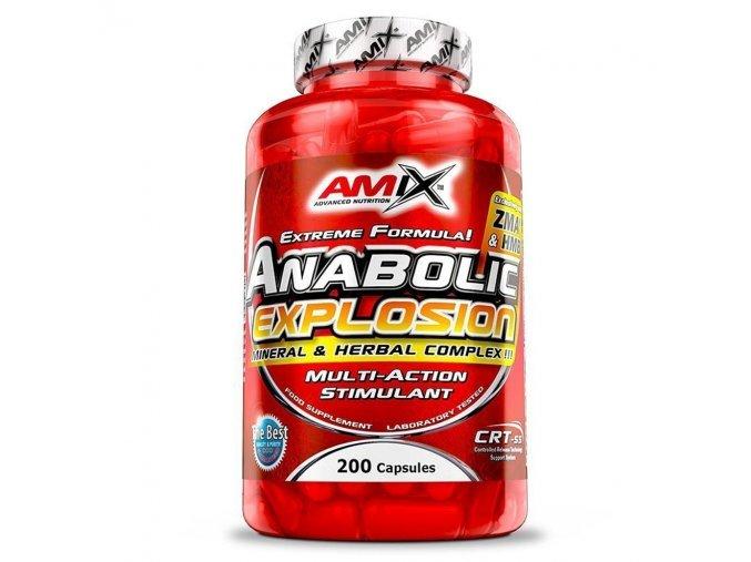 Amix Anabolic Explosion Complex 200 kapslí  + šťavnatá tyčinka ZDARMA