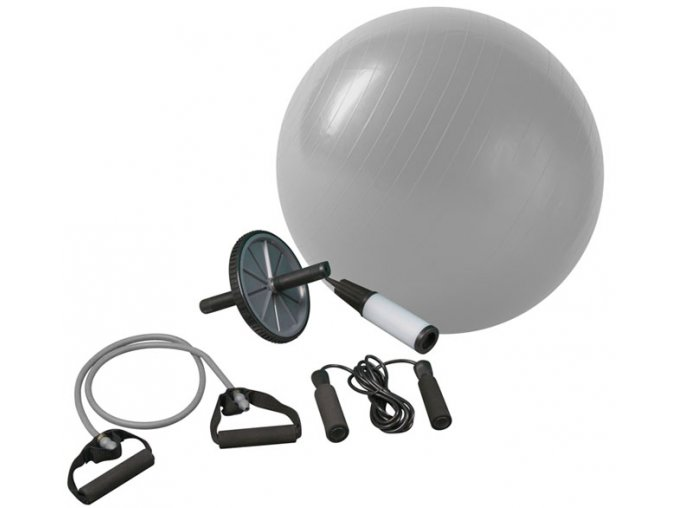 ACRA Fitnes set pro posilování a rehabilitaci  + šťavnatá tyčinka ZDARMA