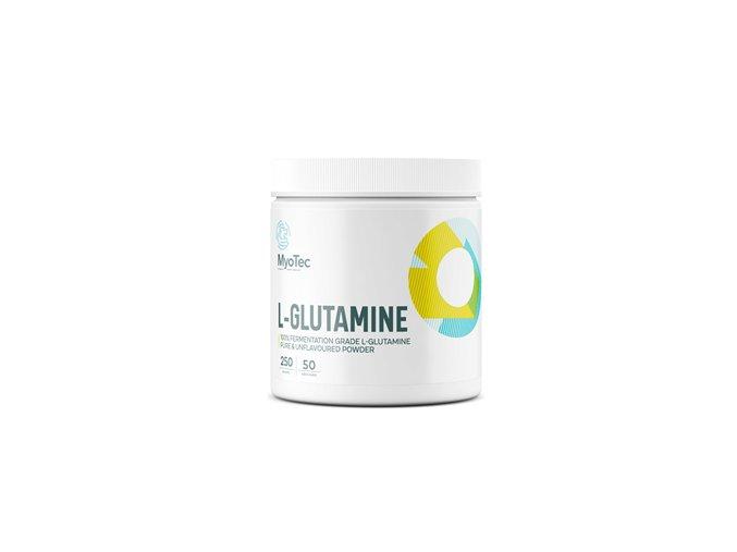 MyoTec L-Glutamine 250g  + šťavnatá tyčinka ZDARMA